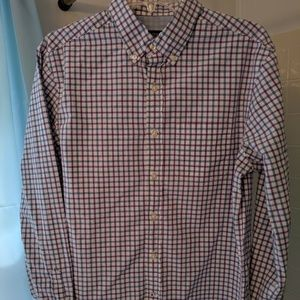 American eagle athletic fit casual button down